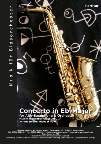 Concerto for Alto Saxophone